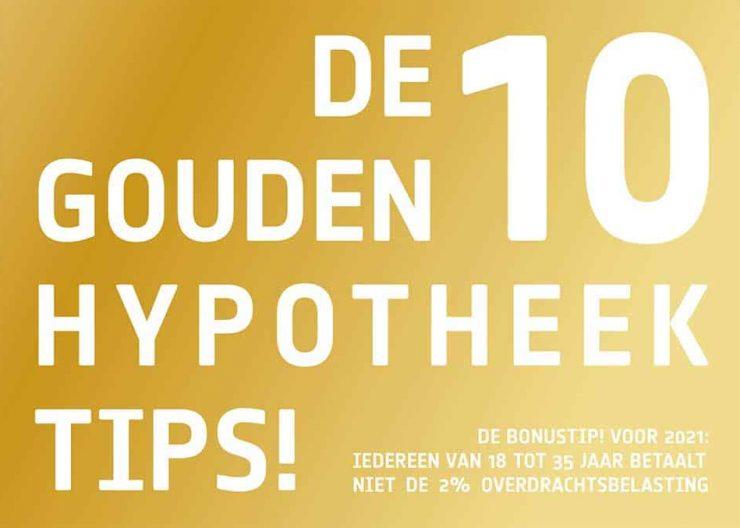 Molenaar Verzekeringen: De 10 gouden hypotheek tips!